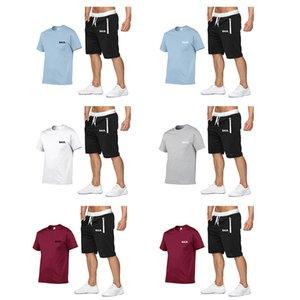 mens designer t shirts sportssuit men's sportswear Shirt Shorts summer men's T-shirt shorts fashion casual suit sportswear men's clothing