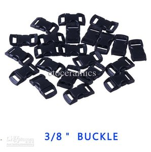 "Wholesale Sports & Entertainment,3 8"" Plastic Buckle for Paracord Bracelet Contoured Curved Side Release FREE SHIPPING"