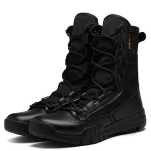 Army Tactical Men Designer Shoes Outdoor Sport Stivali alti Desert Boots Uomini Scarpe per l'escursionismo campeggio tiro in bicicletta