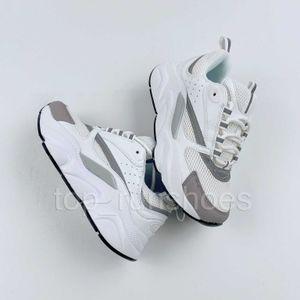 Yeni B22 beyaz Yüksek Kalite bağlanır B25 erkek üçlü siyah B22s örgü moda kadın 22 S Hommes Fransız tasarımcı Sneakers rahat ayakkabılar