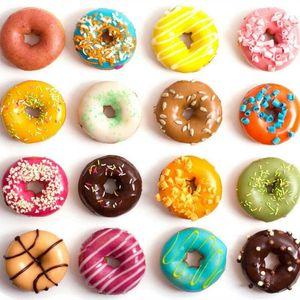 Livraison gratuite beignet automatique fabricant mini donut friteuse 4 rangées de mini-machine avec des beignets 110v 220v qualité en option haute