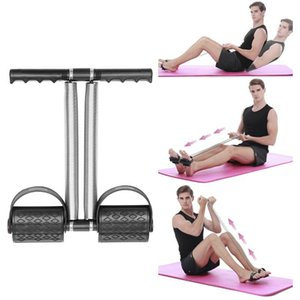 Pedale Home Fitness Leg Shank Tirare Pedale fitness Double Spring acciaio semplice Silica Gel Puller
