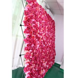 Искусственные цветы стеновые панели стоят DIY декора для свадебного фона складной дисплей стойки полки легко носить с собой 5 размеров имеющихся