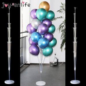 vent & Party Ballons & Accessories 7 13 19tubes Balloon Stand Holder Birthday Balloons Arch Stick Holder Wedding Decorations Balo...