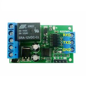 2 EN 1 RS232 TTL232 interfaz de puerto serie UART relé conmutador PC MCU USB para el hogar inteligente Garaje alarma de puerta de coche de motor Granja