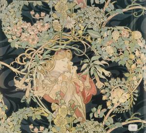 Альфонс Муха женщина с Маргарита Home Decor ремесла / HD печать картина маслом на холсте стены искусства холст картины 191110