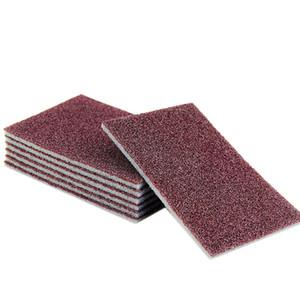 10 Pcs Magia esponja Carborundum Kitchen Sponge Eraser para Pan Pot Dish Itens esponjas de cozinha Utensílios de limpeza doméstica