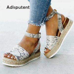 Shoes Women Pumps High Heels Sandals Summer 2020 Flop Chaussures Femme Platform Sandals 2019 Sandalia Feminina