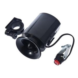 6 звук электронный велосипед колокол кольцо Сирена предупреждающий Рог ультра громкий голос динамик велосипед аксессуар черный падение доставка