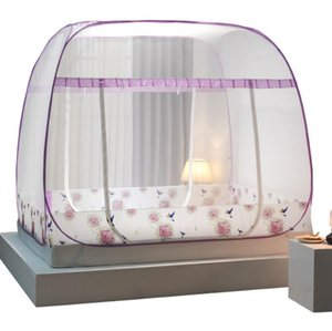 Mosquito Net Big Roof 3 Door 2m High Canopy Insect Automatic Folding Bed Bunk Breathable Netting Tent Mosquito Net Home