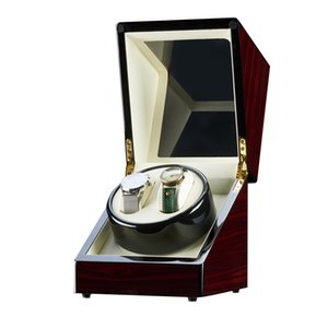 Watch storage box mechanical watch rotating placer double watch winding machine automatic rotating wooden display cabinet storage