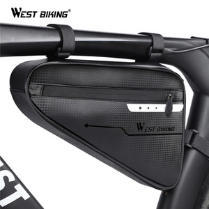 WEST BIKING Waterproof Bags 3L de bicicleta triângulo dianteiro da bicicleta Bag Tubo Quadro Ciclismo Bolsa Ferramentas Pannier Acessórios da bicicleta bicicleta Bag MX200717