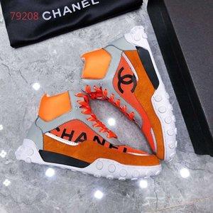 luxeconcepteur chaussures hommes haut de gamme et d'affaires marque rayé luxe noir femmes cuir chaussures couple de bureau taille 35-45AA