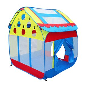 Foldable Castle Play Tent For Kids Girls Boys Indoor & Outdoor Activities Large Space for 2-3 Kids 140*120 cm