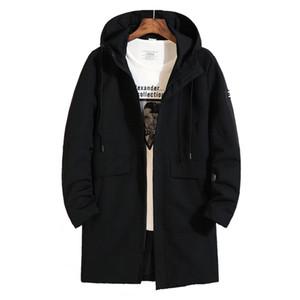 tamanho grande New 8xl 7XL 6xl Plus Size alta qualidade Brasão Casual Jackets Outono Alongar Homens Sportswear Mens Jacket moda