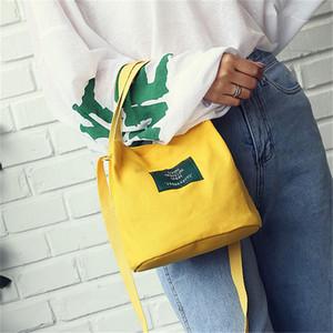 Портативная сумка Обед для сумок Женщины Мужчины 2019 New Lunch Box Tote Бенту мешок Контейнер Школа хранения Черный ShoulderBag