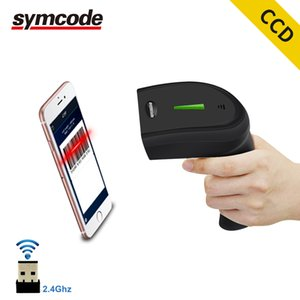 Cheap Scanners Symcode CCD Wireless Barcode Scanner,30-100 meters Transfer Distance,16M Storage Space,Can read 1D Screen Code