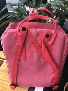 As Gift Fjallraven Kanken Swedish Foxes Classic Backpack Fashion Hangbag Design Bag Fjallraven Kanken Junior High School Canvas Sports Bags