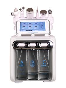 Çok fonksiyonlu Hydra Dermabrazyon RF Biyo-kaldırma Spa Yüz Makine Aqua Yüz cleaningl Makine su Kese Dermabrazyon ücretsiz gönderim