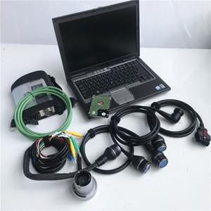 2020.03V nouvelle star mb sd connexion c4 diagnostic mb star c4 avec h-dd + set portable D630 complet prêt à travailler