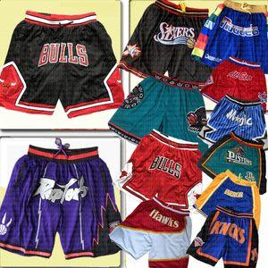 Chicago Nur Toronto Basketball Bulls Shorts Raptors Philadelphia Memphis DON Piston Grizzlies 76er Miami Orlando New Yorker Hitze Magie Knick