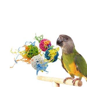 Amazon Small Favor und Put Sb. In einer wichtigen Position Produkt Sepaktakraw Gnaw Toys Drahtziehen Hastig Buch Parrot Toys Bird Toys