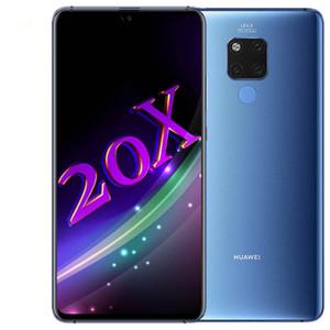 """الأصلي هواوي ماتي 20 X 20X 4G LTE الهاتف الخليوي 6GB RAM 128GB ROM كيرين 980 الثماني النواة الروبوت 7.21 """"ملء الشاشة الهاتف 40MP NFC النقالة الذكية"""