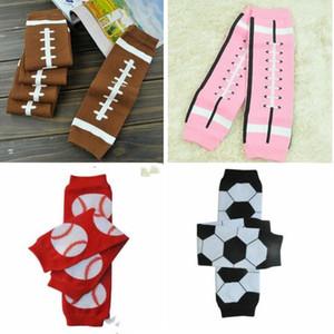 Kind Sport Strümpfe Kinder Cotton Fußball Basketball Fußball Printed Elastic Lange Socken Winter warm verdickte Knieschützer WY258Q