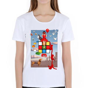 Women's short sleeve Treasures T-Shirt Reminiscences of the 70s 80s Playful Mind printed male Tees casual hipster Tops