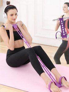 Indoor Training Resistance Bands Elastic Pedal Set for home gym fitness Exercise Band Equipment crossfit workout yoga expander