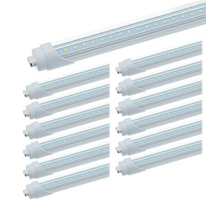 Tubos led en forma de V 8 pies T8 R17d Tienda de luz giratoria R17D T8 giratorio Bombillas led 72W AC100-305V 25Pack