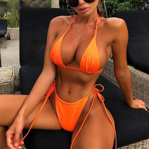 V Neck Bandage Lace Up Sexy Camis Panties 2 Pieces Sets 2020 Summer Women Fashion Sashes Neon Green Solid Cop Tops Shorts