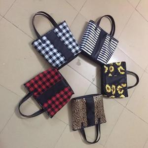 5 estilos fin de semana Bolsas Girasol Impreso bolsos Mochila con cuerdas leopardo bolsa de viaje de chicas de celosía bolsos con el transporte marítimo de 200pcs CCA12134