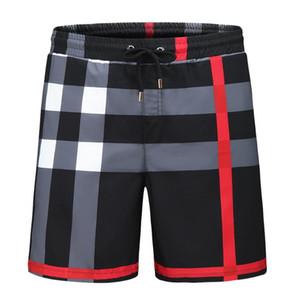 Новые модные шорты тропическое лето новый дизайнер доска короткий быстрый сухой купальник печати доска пляжные брюки мужские плавательные шорты BBR
