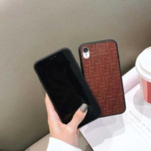 Popular iPhone Case Fashion Multicolor linen mobile phone case For iPhone 11 Pro Max XR XS 8 7Plus 6S