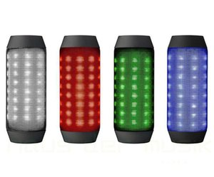 2019 BQ-615 Mini beweglicher Fahrrad-Sport drahtloser Bluetooth-Lautsprecher mit Magie Tanzen bunte LED-Leuchten TF-Karten-Slot-Lautsprecher