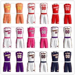 Cualquier nombre de personalizar cualquier camisa hombre número señora de las mujeres de los niños jóvenes baloncesto de los muchachos jerseys del deporte como los cuadros ofrecerle ZZ0074