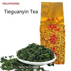 250g del grado superiore tè cinese di Anxi Tieguanyin, Oolong, tè Tie Guan Yin, tè Health Care, Confezione sotto vuoto, il trasporto libero, Raccomanda