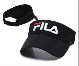 Lettera vuota Top Cap Casual Summer Visor Sun mens designer Hat Sport donne Golf Tennis Outdoor Beach Fascia Snapback Baseball cappelli gorras