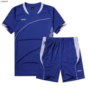2334Training Football 0233Survetement Costume Maillots de football Ensemble Maillot de Foot Futebol fonctionnement de courte durée sport Kit Diy Personnaliser 4
