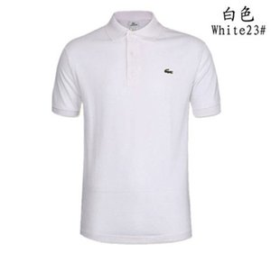 The̴ crocodile2019 Mens Designer Polos Brand small horse Crocodile Embroidery clothing men fabric letter polo t-shirt collar casual t-s