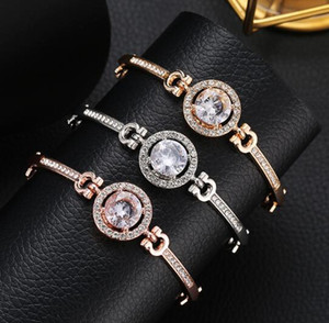 2020 Maiden, girlfriend,Valentine's Day, dazzling and luxurious pure silver White Diamond Swan Crystal Bracelet for Gift