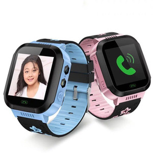 Montre intelligente Smart Watch Kids Q528 écran tactile Tracker WatchAnti-perdu enfants montre-bracelet SOS appel pour Android IOS avec caméra à distance