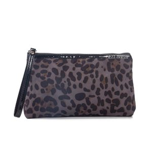New Fashion Leopard Organizer Toiletry Bag Necessaries Women Travel Cosmetic Bags Makeup Bag