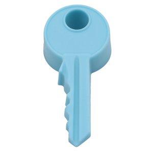Горячие Silicone Rubber Kid Baby Safe Door Stopper Cute Key Стиль Home Decor Finger Охрана Клин