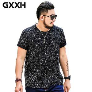 GXXH Men T-Shirts Cotton Plus Size 5xl 6XL 7XL Tee Homme Summer Short Sleeve Men's T Shirt Male oversized Camiseta Tshirt Homme