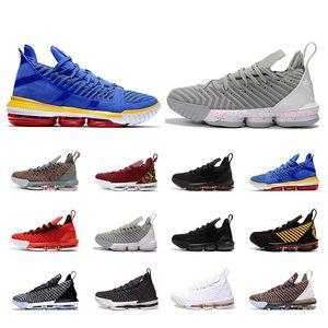 lebron Nouveau arrivé 16s chaussures de basketball 2019 hommes femmes chaussures de course 16 Top qualité sport athlétique baskets respirantes baskets pour hommes formateurs