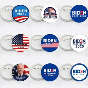 12 Styles JOE Biden 2020 Keychain Pendant Joe Biden For President Keyring US President Badge Key Chain Party Favor 600 1Pcs Free#778