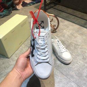 New arrivel 2019 scarpe da uomo di Design de Luxo formadores de plataforma cesta Montante cuir sapatos sapatos edição limitada # 1F