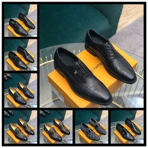 Лучшие дизайнерские мужские туфли мужские дизайнерские платья обувь 2020 новое поступление бизнес кожаная обувь мужчины открытый Повседневная обувь с коробкой